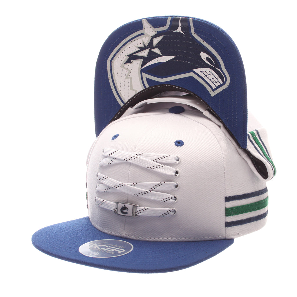Vancouver Canucks White 'Locker Room' LTD Snapback
