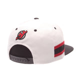 New Jersey Devils White 'Locker Room' LTD Snapback
