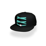 Miami Dolphins Custom Black Lacer Snapback Set