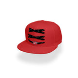 Carolina Hurricanes Custom Red Lacer Snapback Set
