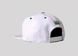 NYJ White & Green Snap Back