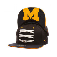 Load image into Gallery viewer, Michigan Wolverines 'Eclipse' Snapback