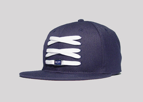 Navy Fitted
