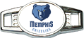 Memphis Custom Navy Basketball Lacer Snapback Set
