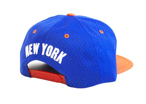 New York 'Back Board' Snapback Set