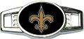 Load image into Gallery viewer, New Orleans Custom Black Football Lacer Snapback Set