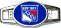 Load image into Gallery viewer, New York Custom Navy Hockey Lacer Snapback Set