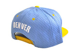 Denver 'Back Board' Snapback Set