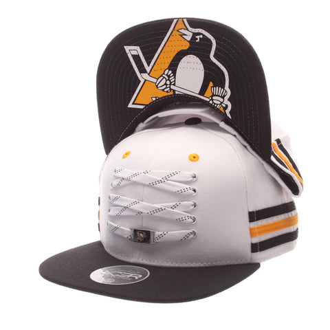 Pittsburgh Penguins White 'Locker Room' LTD Snapback