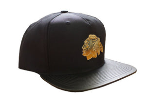 Chicago Blackhawks 'Plated' 5-panel Snapback