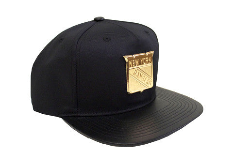 New York Rangers 'Plated' 5-panel Snapback