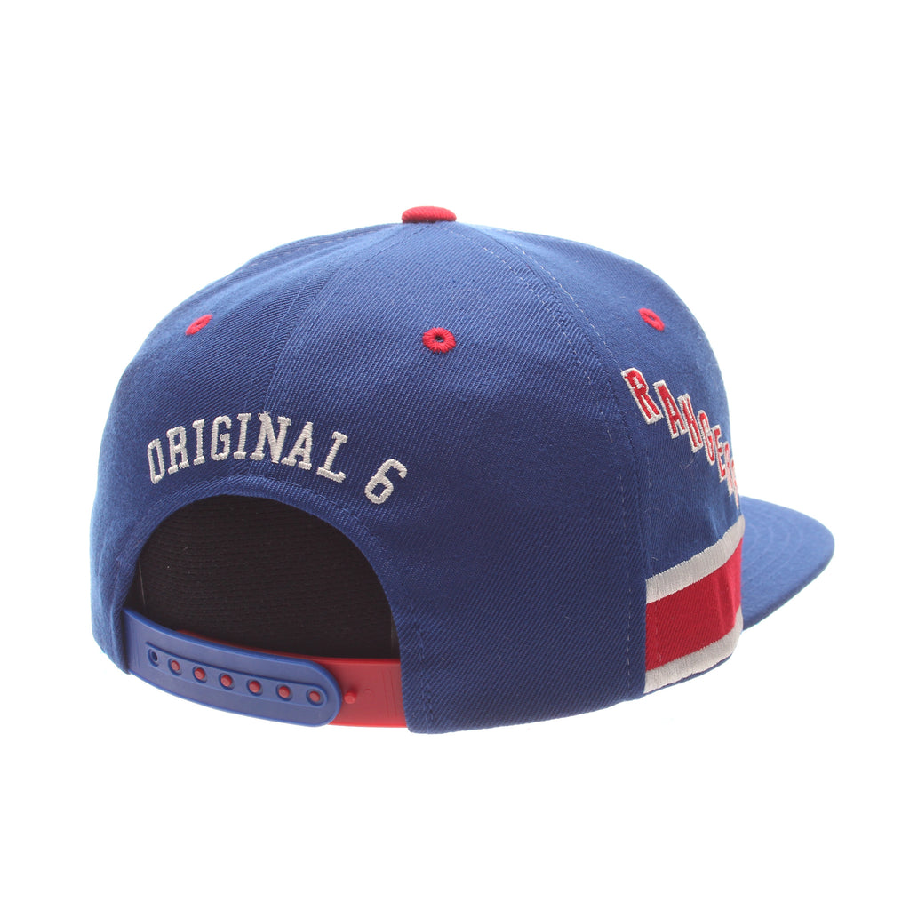 detailed look 01d59 a8b40 canada vintage new york rangers original 6 snapback 27d44 8ac83