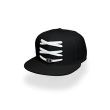 Load image into Gallery viewer, Toronto Custom Black Basketball Lacer Snapback Set