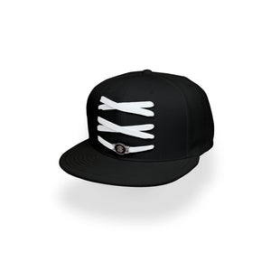 Toronto Custom Black Basketball Lacer Snapback Set