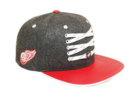 Detriot Red Wings 'Checked' Snapback
