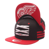 Detroit Red Wings Black 'Locker Room' LTD Snapback