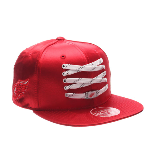 Detroit Red Wings LTD Satin Snapback