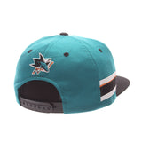 San Jose Sharks Teal 'Locker Room' LTD Snapback