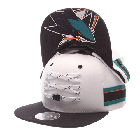 San Jose Sharks White 'Locker Room' LTD Snapback
