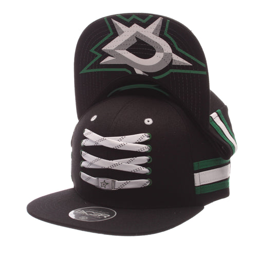 Dallas Stars Black 'Locker Room' LTD Snapback