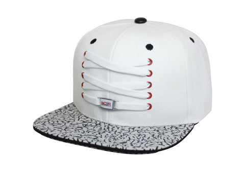 White Infrared Elephant Snapback