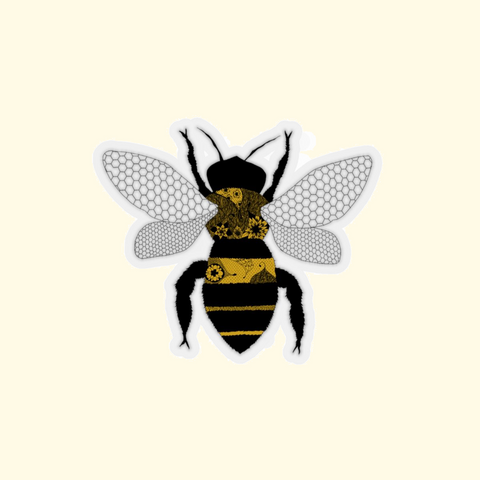 baby bumblebee sticker