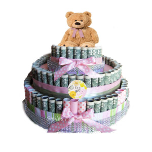 Cash Money Baby Cake