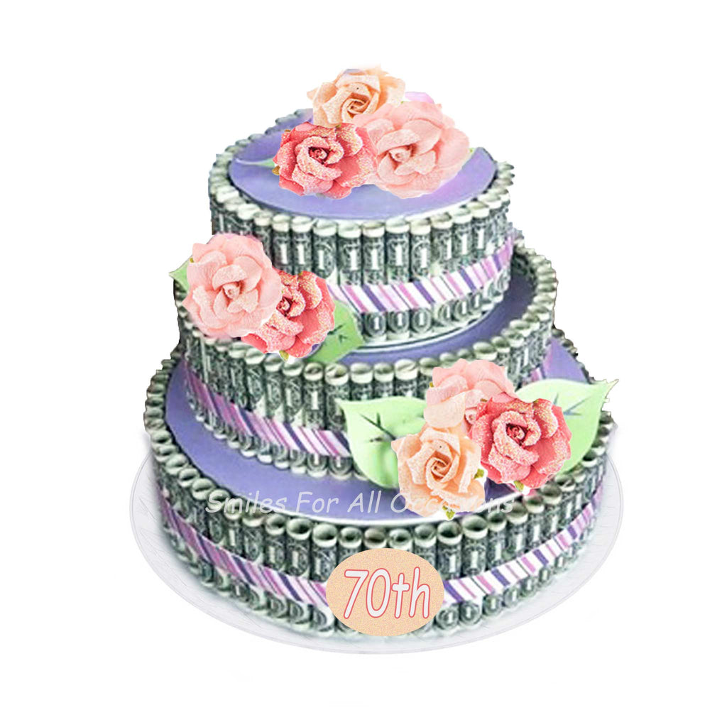 Cash Money Flower Age Cake