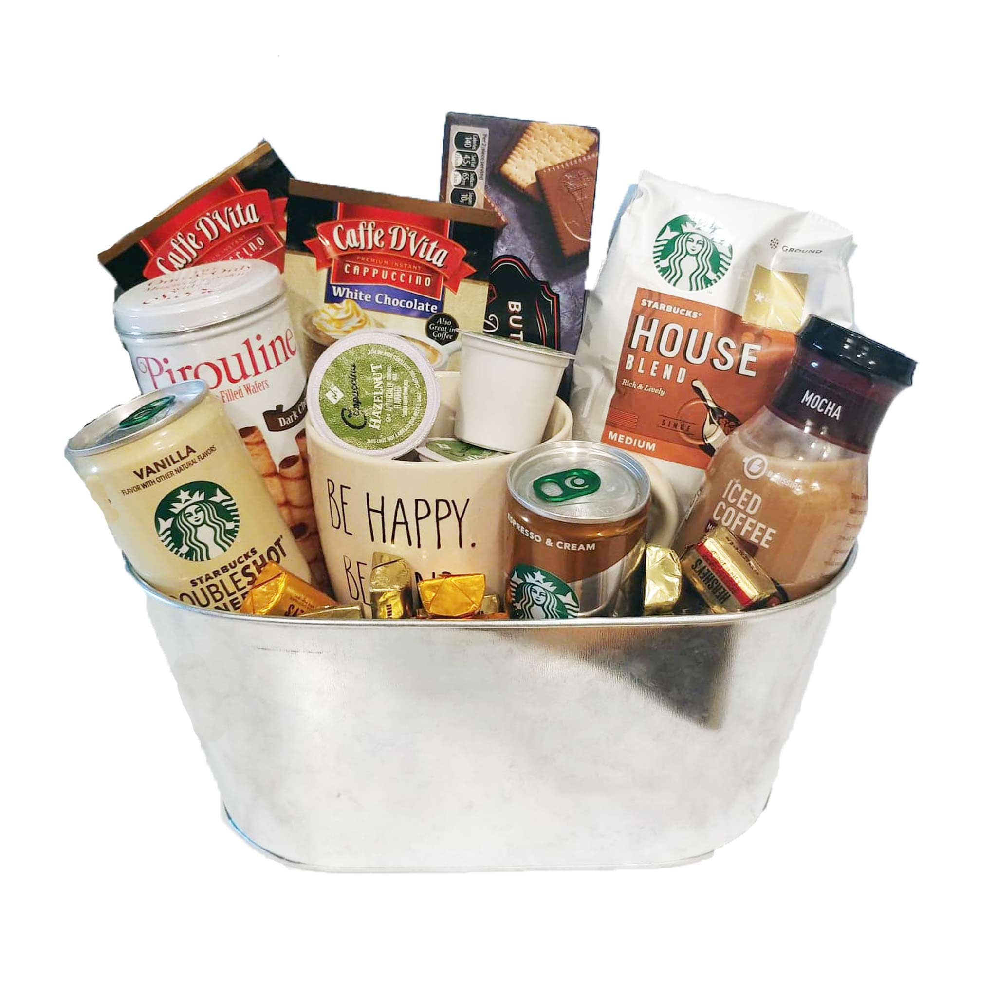 Starbucks Coffee and Treats Gift Basket