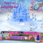 Frozen Elsa Ana princess crowns birthday