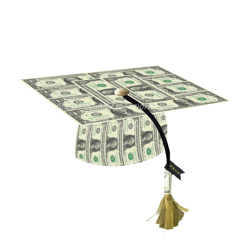Cash Money Graduation Cap