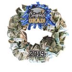 cash money wreath graduation