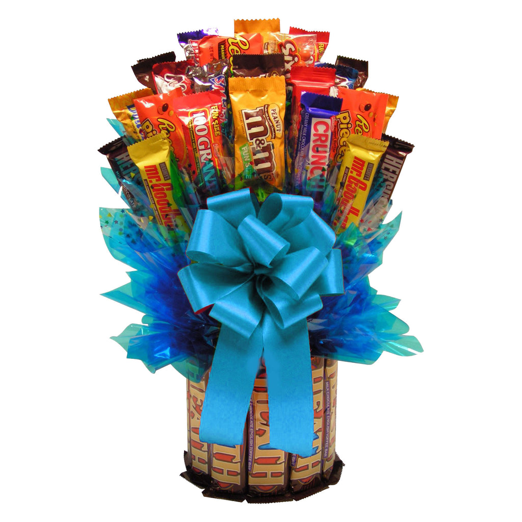 Heath & More Candy Bouquet