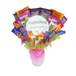Congratulations Candy Bouquet