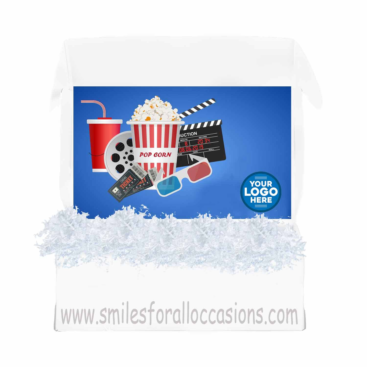 Movie Night Gift Box Care Package