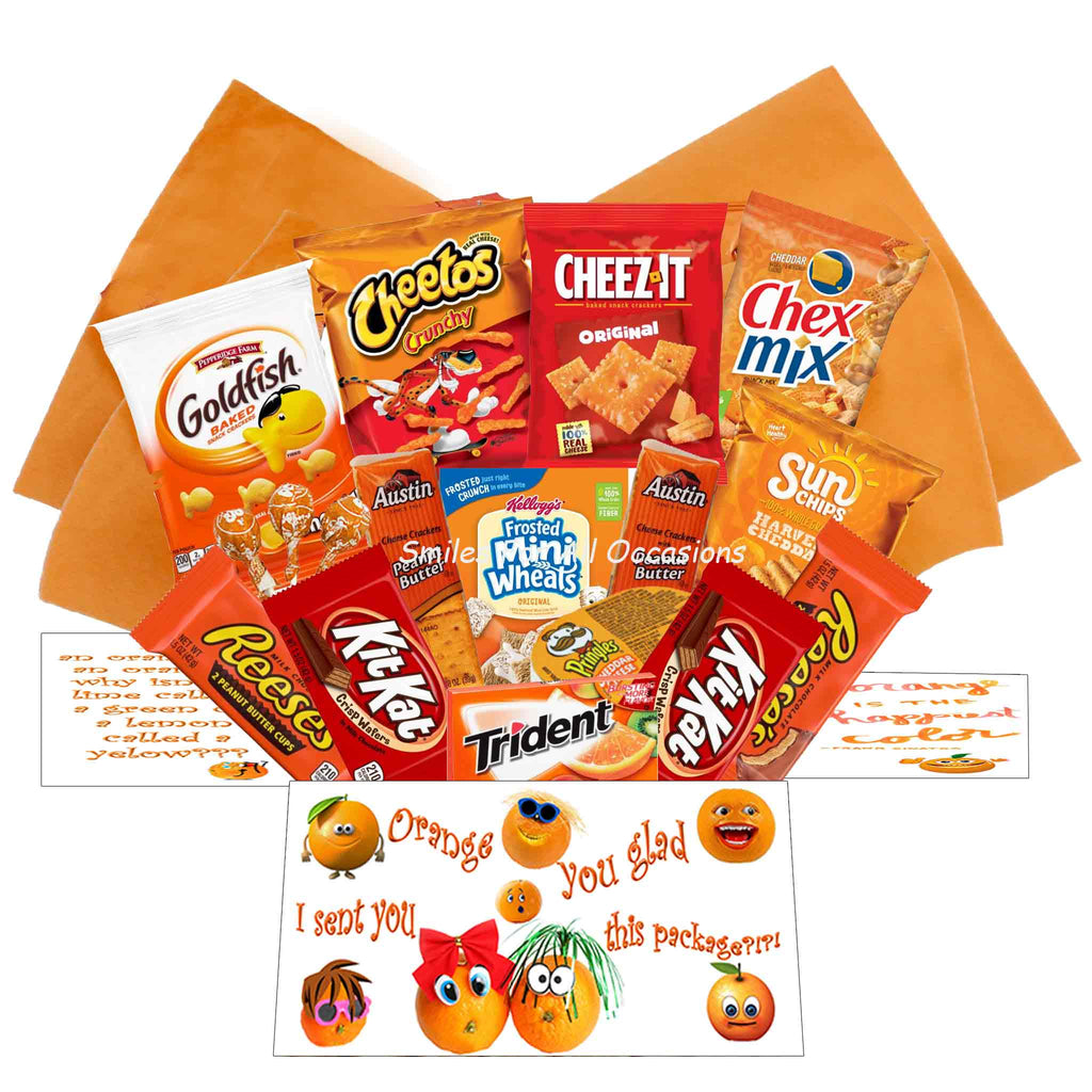 Orange Knock Knock Care Package