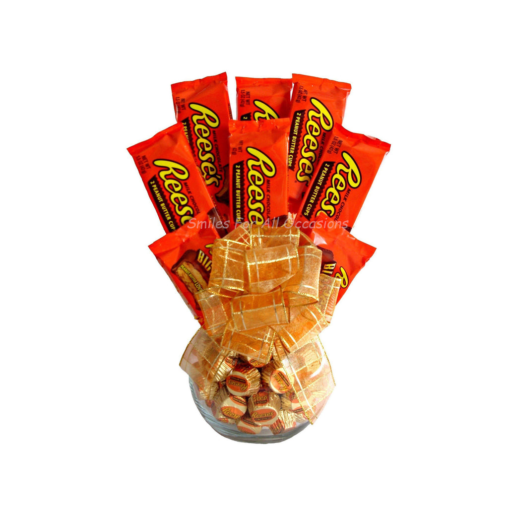 Reese's Candy Arrangement