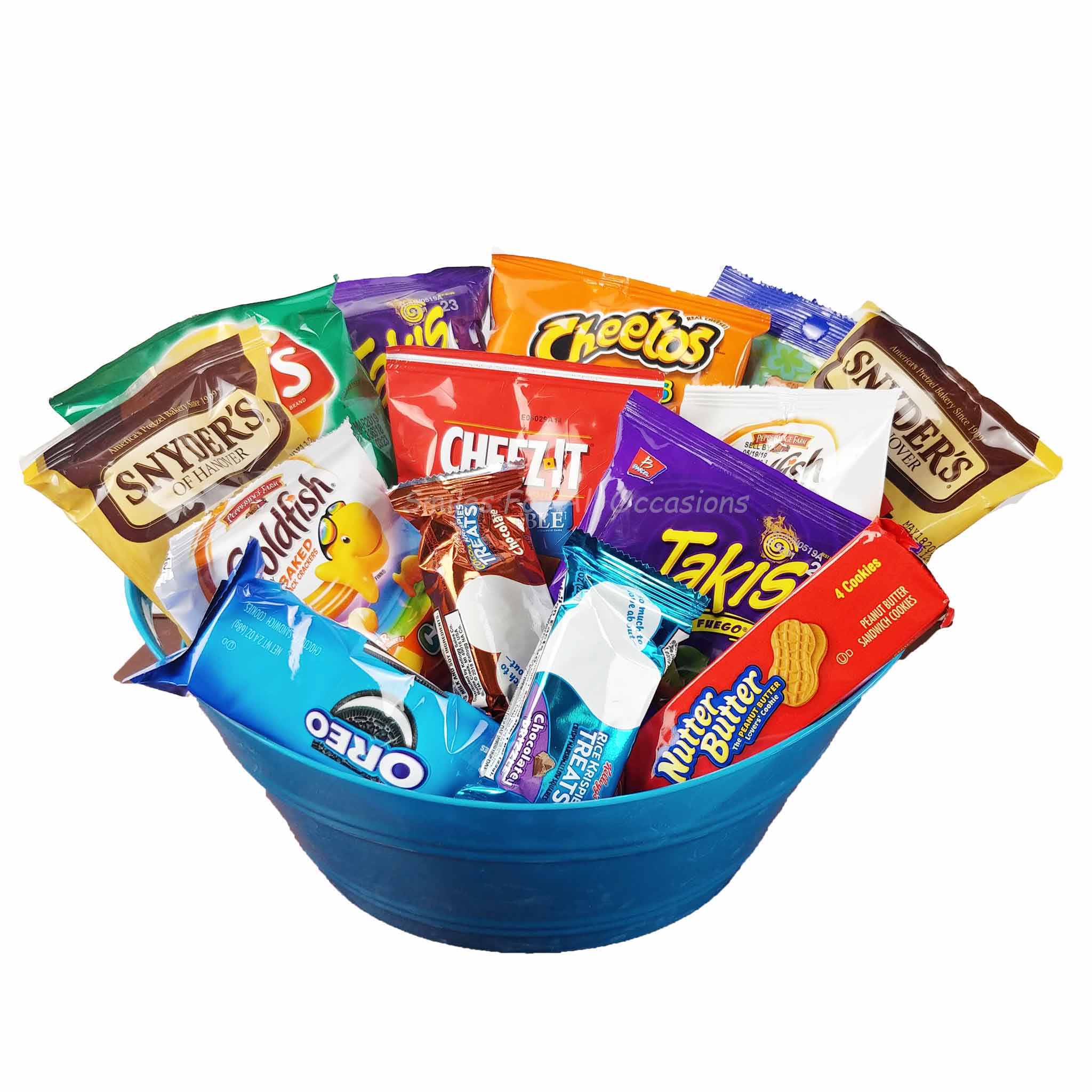 Small Snack Gift Basket