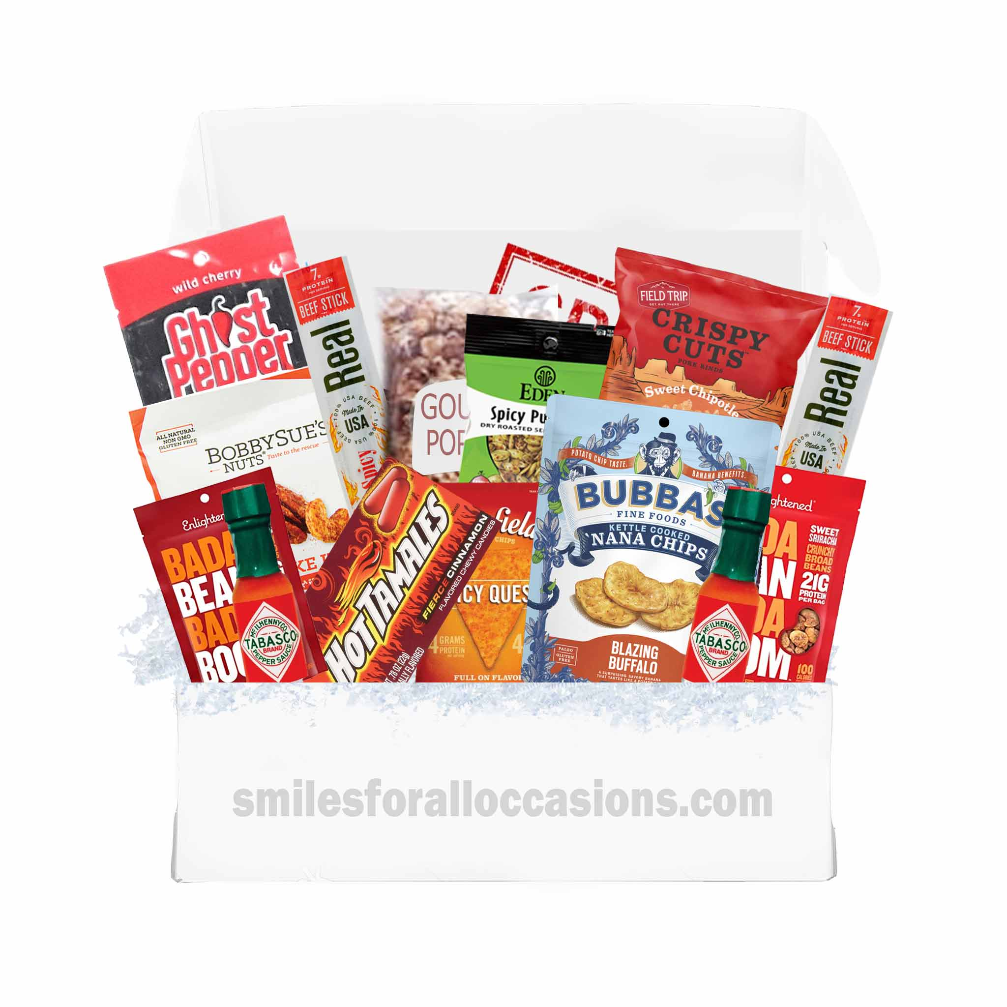 Hot Spicy Care Package Gift Box