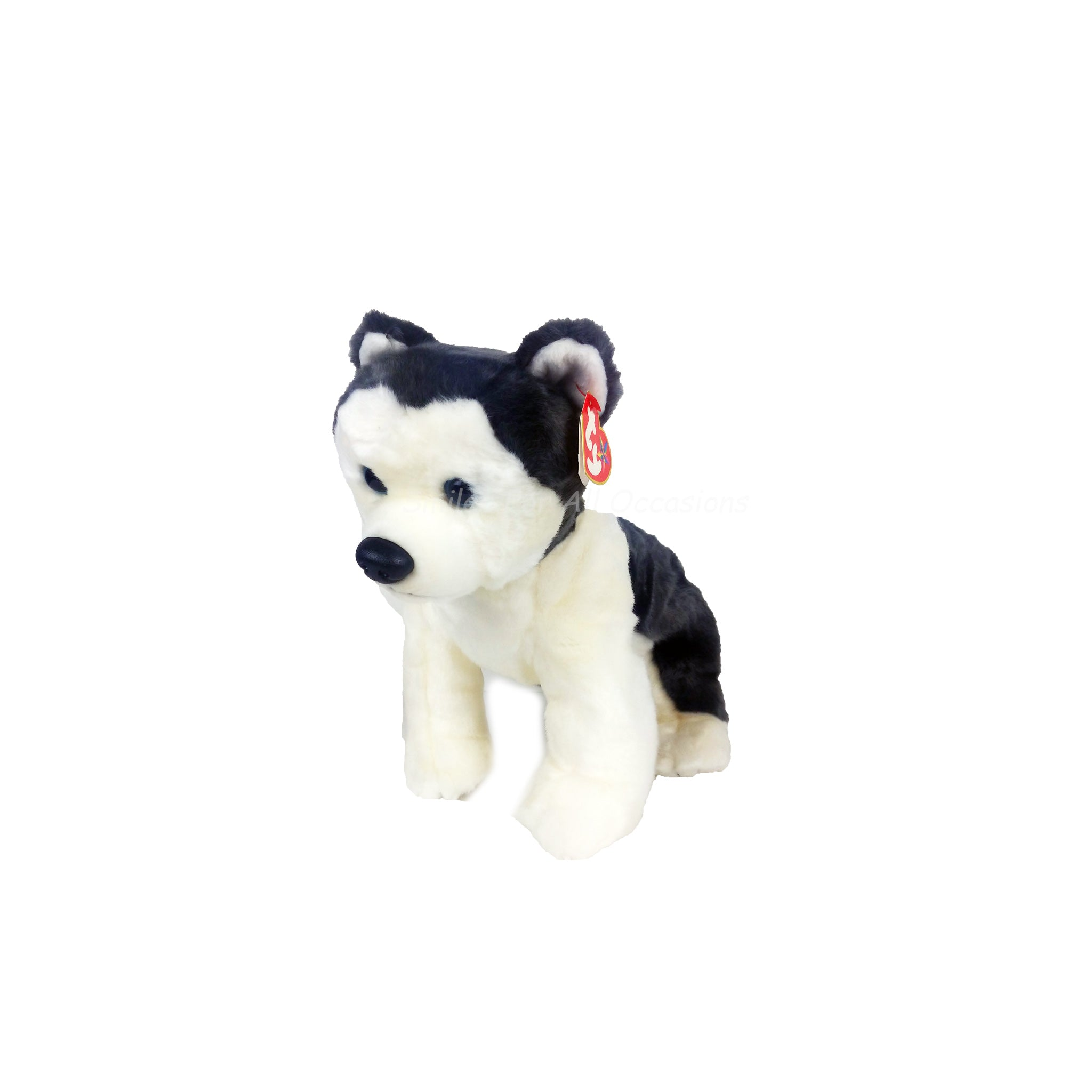 TY Husky Stuffed Animal