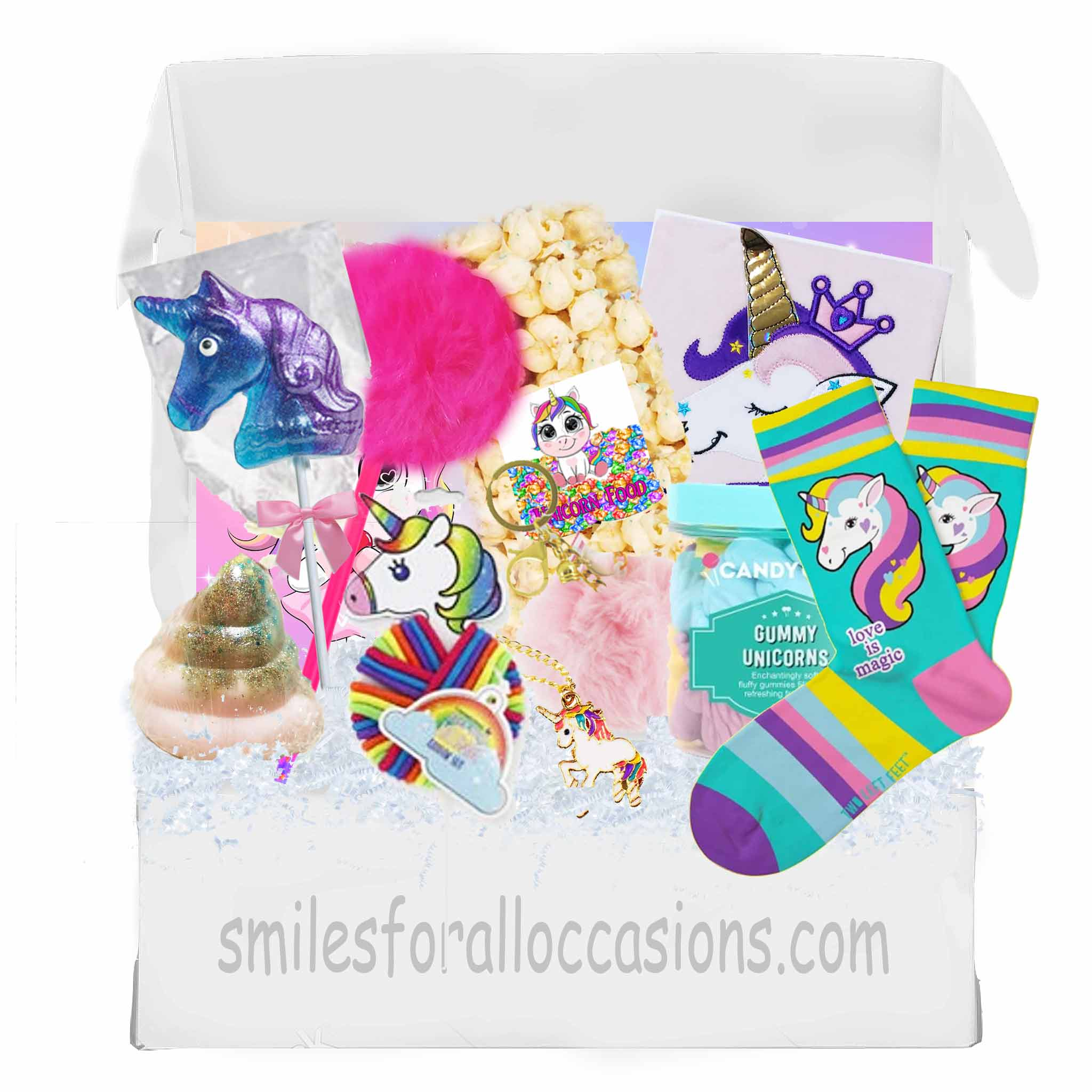Unicorn Gift Box Care Package