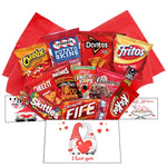 Valentine Snack Gift Box Care Package