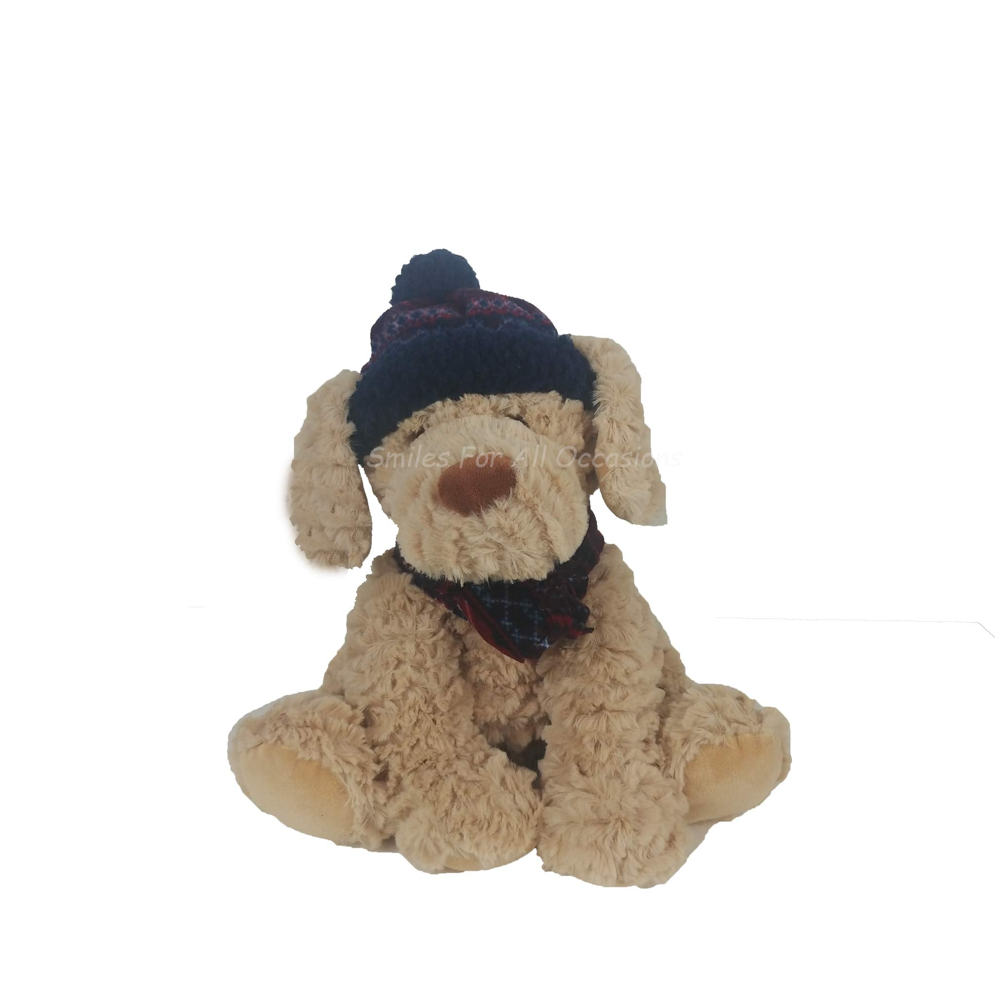 Winter Dog Plush Toy
