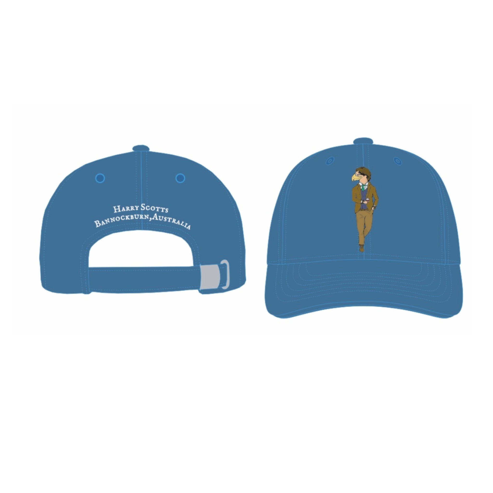 Blue Twill Cap (Free Shipping)