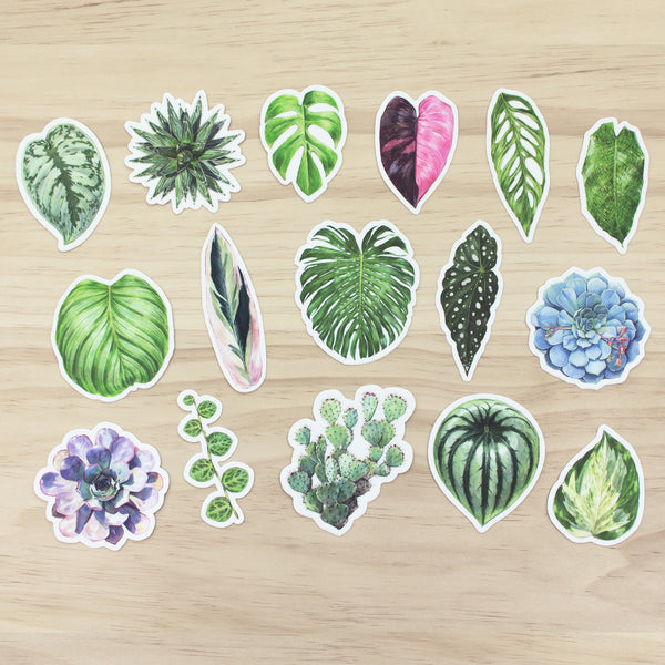 Houseplant Sticker Set