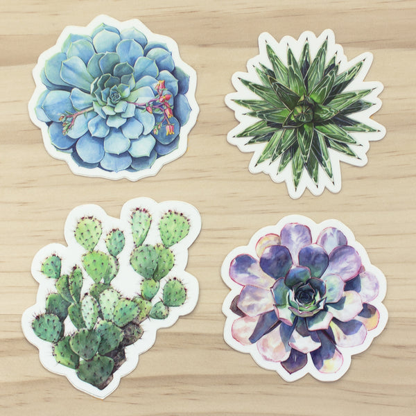 Cactus & Succulent Sticker Set