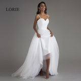 Spaghetti Strap Beach Wedding Dresses