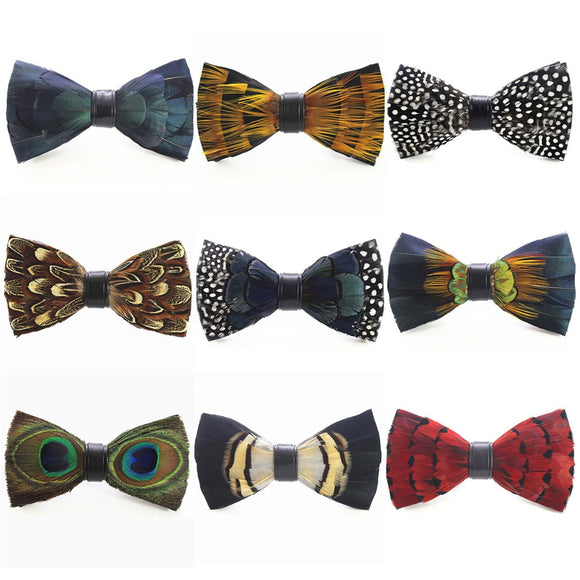 Men's Luxury Exotic Bowtie With Box