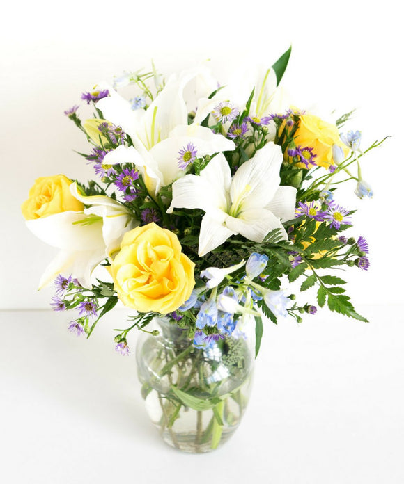 Bluetiful Sunshine Bouquet