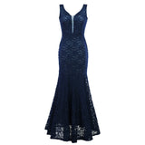 Corset Lace Mermaid Bridesmaids Dress